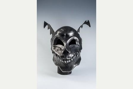Monster helmet by Terry English which will be on display at Royal Cornwall Museum's forthcoming exhibition All Monsters Great and Small